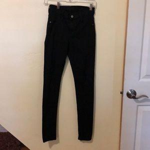 Black James jeans twiggy